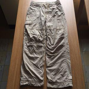 GapKids khaki sweatpants (+cargo pockets)